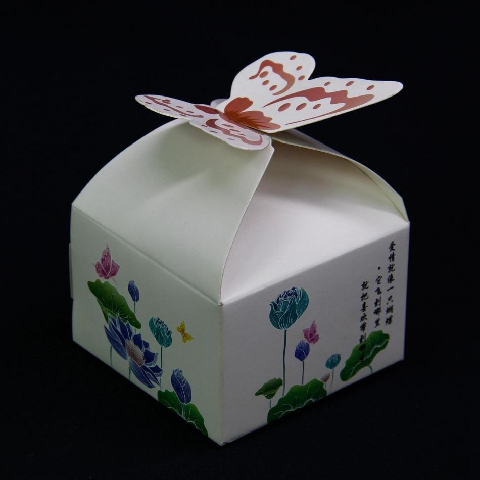 vintage wedding gift favor boxes casamento paper wedding