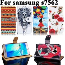 Buy Painted PU Leather Cases Samsung Galaxy Trend Plus GT S7580/Trend Duos GT S7562 S7560 GT-S7562L/S Duos S7582 Cell Phone Case for $3.70 in AliExpress store