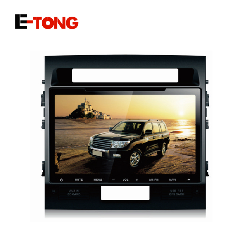 """New Android CAR DVD PLAYER FOR TOYOTA Land cruiser 200 autoradio player 10.1"""" Capacitive Screen Built in GPS navigation wifi 3(China (Mainland))"""