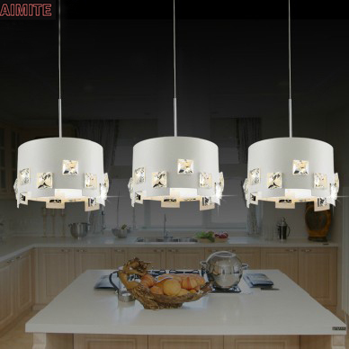 Free shipping led dining room pendant light fashion bar counter lamp modern crystal lamp personality lamps,Low Price Led lamps(China (Mainland))