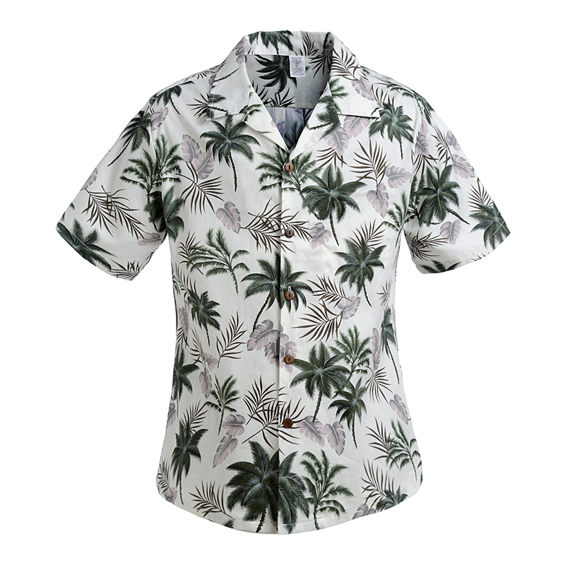 Cotton Mens Floral Dress Shirts Hawaiian Large Cruise Tropical Luau Beach Hawaiia Shirt Party Palm Leisure Shirts Chemise Homme(China (Mainland))
