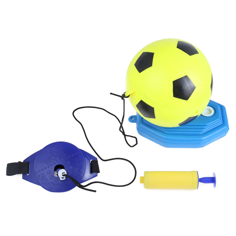 Kids Outdoor Toys Inflatable Football Set Children Outdoor Indoor Sport Toy Sport Set Child Toy Ball with Inflator Pump(China (Mainland))