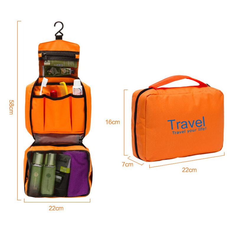Travel Makeup Bag Toiletry Cosmetic Case Handbag Organizer Storage Pouch Purse(China (Mainland))