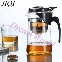 3 Kinds Tea Pot Glass Teapot Teaset Integrative and Convenient Office Tea Set simple tea kettle Heat-resistance Teapot kitchen(China (Mainland))
