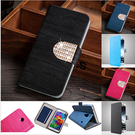 Luxury Stand Card Holders Wallet Flip Leather Housing Cover Case For BlackBerry Z10 Telephone Cases With Back Shell(China (Mainland))