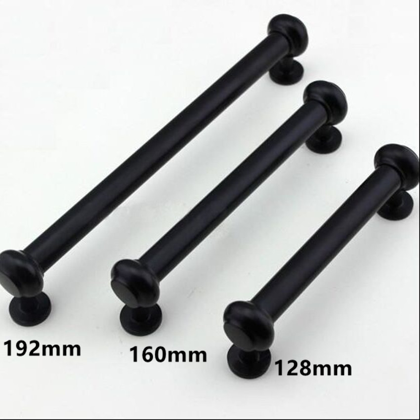 buy 128mm 160mm 192mm antique black furniture handles 5 black kitchen cabinet. Black Bedroom Furniture Sets. Home Design Ideas