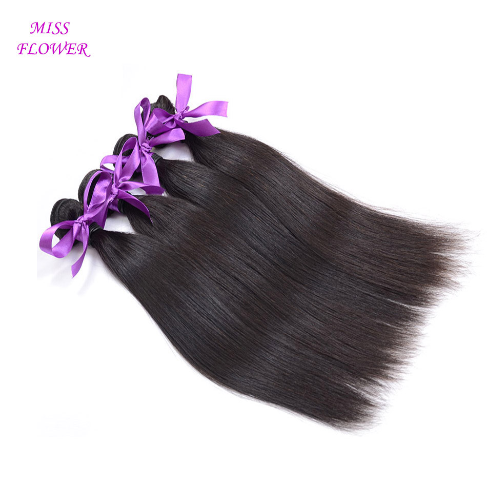6A Brazilian Virgin Hair 4 Bundles Straight Human Hair Virgin Brazilian Straight Hair Unprocessed Brazilian Virgin Hair Straight