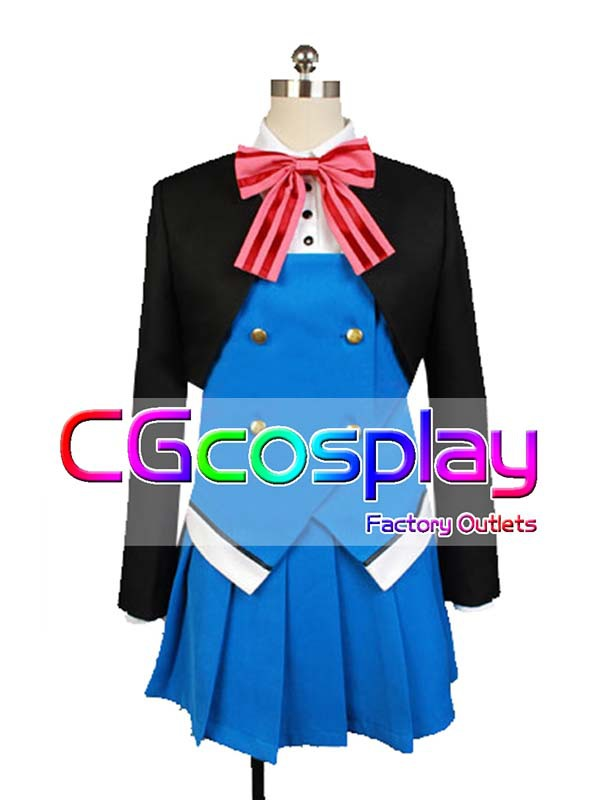 Free Shipping Cosplay Costume Kin-iro Mosaic Shinobu Omiya New in Stock Retail/Wholesale Halloween Christmas Party UniformОдежда и ак�е��уары<br><br><br>Aliexpress