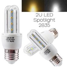 Utile 16 led 2835 3 w 3U-Shape copertura u design del riflettore della lampadina caldo bianco puro #78997(China (Mainland))