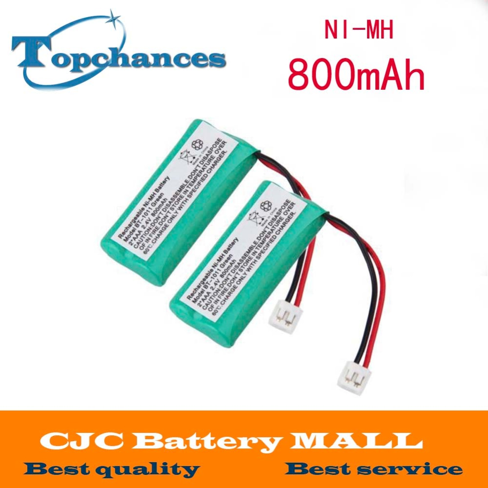 2pcs 2.4V 800mAh Ni-MH Cordless Phone Battery for Uniden BT-1011 BT-1018 BT1011 BT1018 BT-694(China (Mainland))