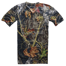 TACTICAL PAINTBALL HUNTING BIONIC DARK REAL TREE CAMOUFLAGE T SHIRT IN SIZE 54 35815