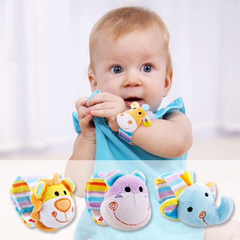 Retail and Wholesale 0-1 Year Old Baby Wristband Rattle Free Shipping Drop Shipping in America Europe African And Middle East(China (Mainland))