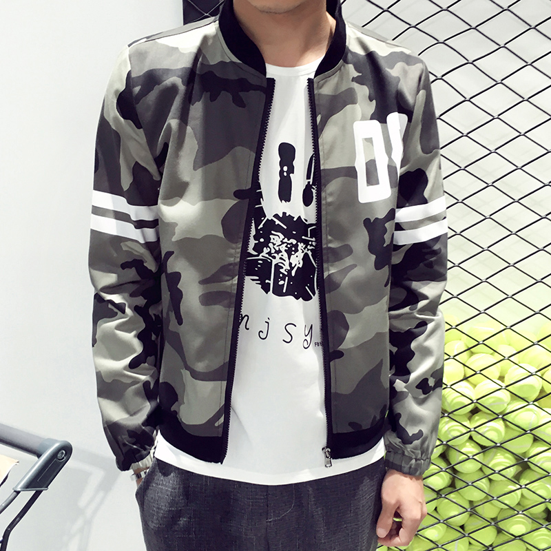 New 2016 fashion military style camouflage jacket men casual thin bomber jacket veste homme men's clothing plus size m-5xl /JK31(China (Mainland))