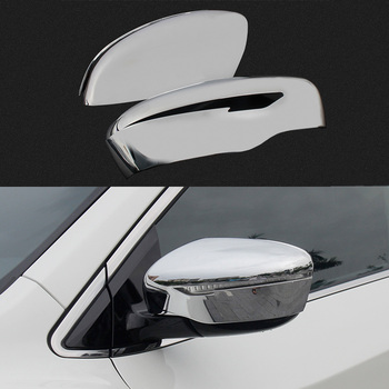 1 Pair Car Styling Rearview Mirror Decoration Cover For Nissan Qashqai J11 2nd 2014 2015 2016 ABS Exterior Cover High Quality