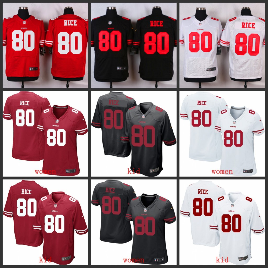 100% Elite men San Francisco 49ers women youth kids free shipping 80 Jerry Rice,camouflage(China (Mainland))