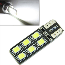 Hot sale Details about 6pcs T10 168 W5W 194 2835 SMD 12 LED Car Auto Side Wedge Light Canbus Error(China (Mainland))