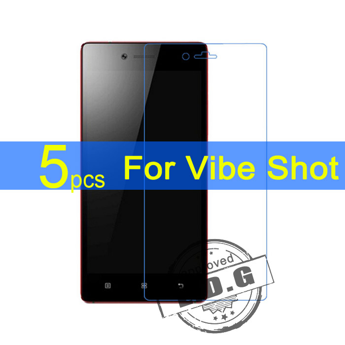 5pcs Gloss Ultra Clear LCD Screen Protector Film Cover For Lenovo Vibe Max Z90 Vibe S