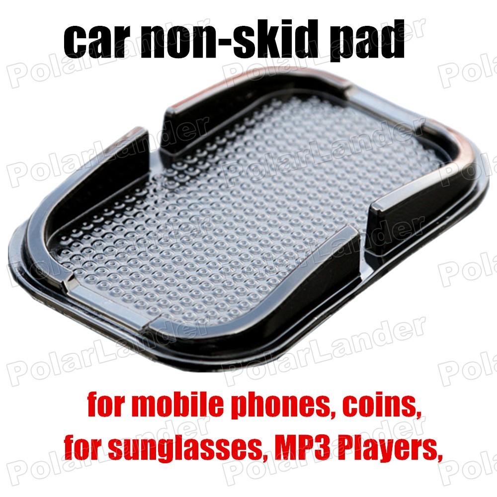 Holds Objects on Dash fashion design black sticky pad anti slip Car mat skid pad automotive interior slip mat for phones holder(China (Mainland))
