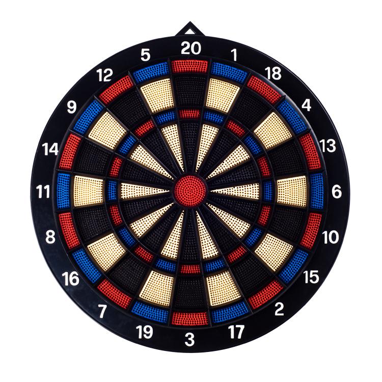 Free Shipping high quality 14 Inch plastic Training Soft  dart boards dardos +6pcs copper darts<br><br>Aliexpress