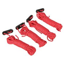 Buy 4pcs*4m Multifunction Tent Rope Reflective At Night Tent Accessories Outdoor Sports Camping Hiking Nylon rope tent accessories for $2.89 in AliExpress store