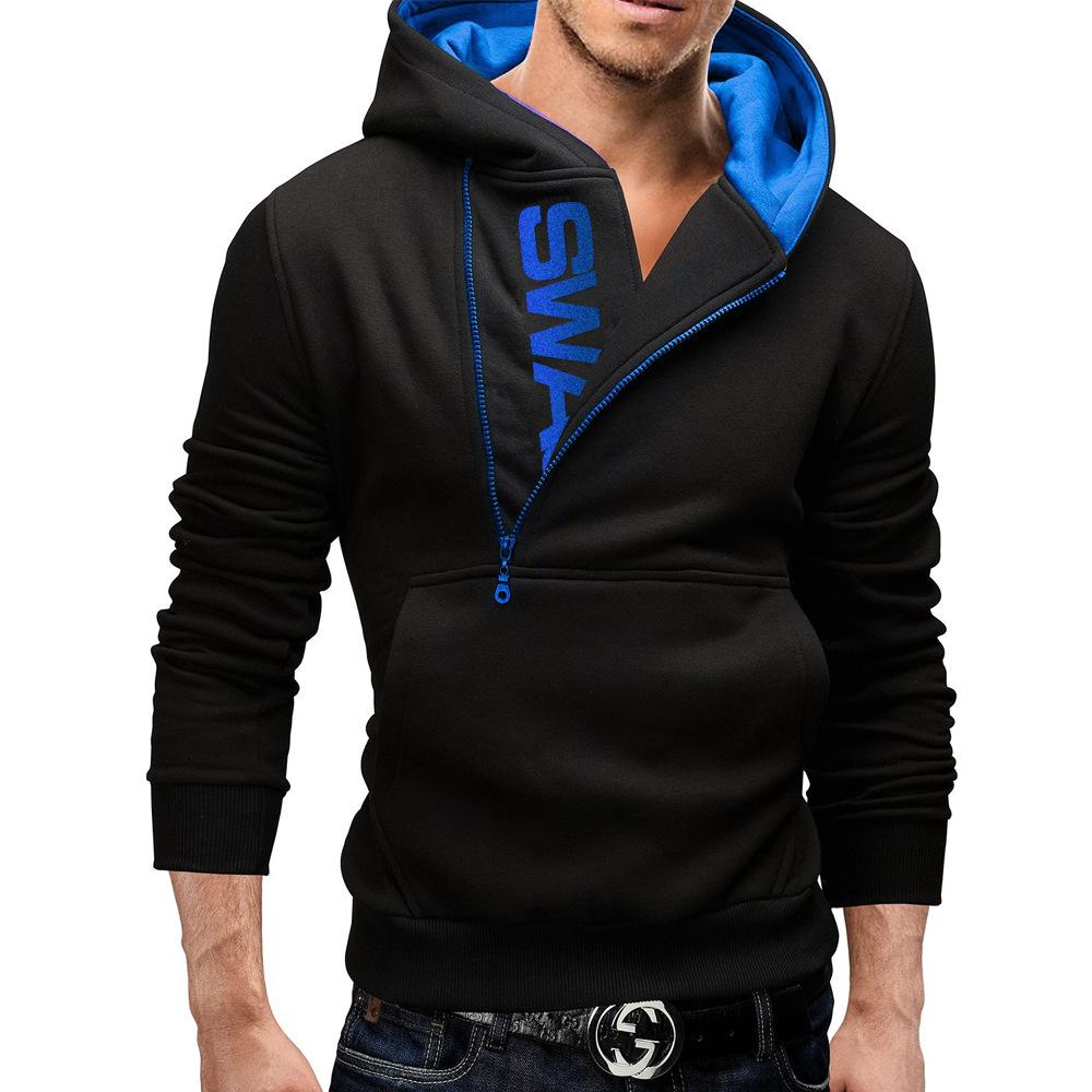 High Quality Long Side Zipper Hoodie Men-Buy Cheap Long Side ...