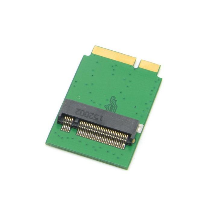 CY 2 Lane M.2 NGFF SATA 80mm to 2012 2013 Mac book Air A1466 A1465 SSD Add on Cards PCBA(China (Mainland))