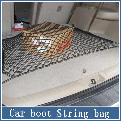 car styling 1Pcs Nylon Car Rear Cargo Trunk Storage Organizer Net for SUV CR-V Tucson Qashqai IX35 Tiguan X3 auto accessories(China (Mainland))