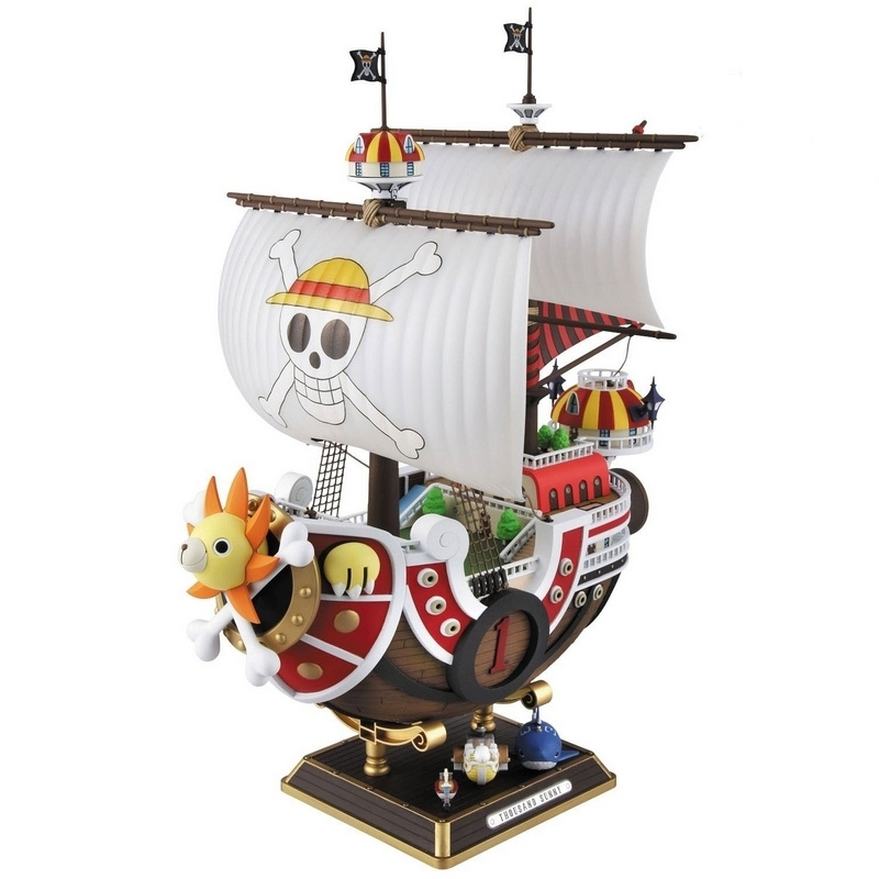 Anime One Piece Thousand Sunny Pirate ship Action Figure Toy 35cm Pirate ship Boxed Model PVC Action Figure Toys Free shipping<br><br>Aliexpress