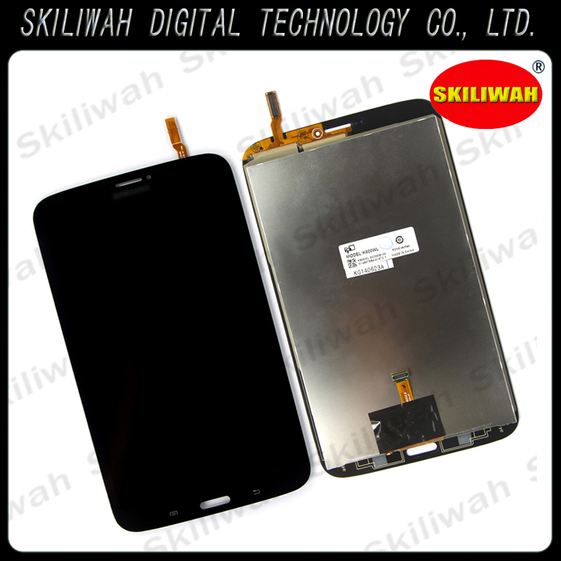 Retail Replacement Repairing  parts Full LCD Display+Touch Screen Digitizer Assembly For Samsung T311  3G Black