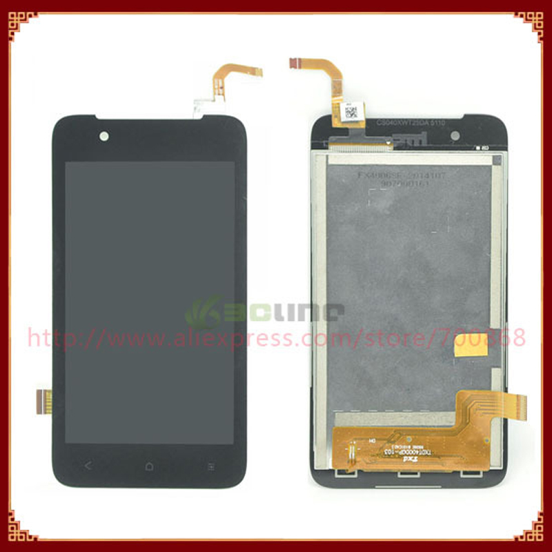 100% Original LCD for HTC Desire 210 LCD Display Screen Touch Screen Digitzer Replacement Black Free Shipping