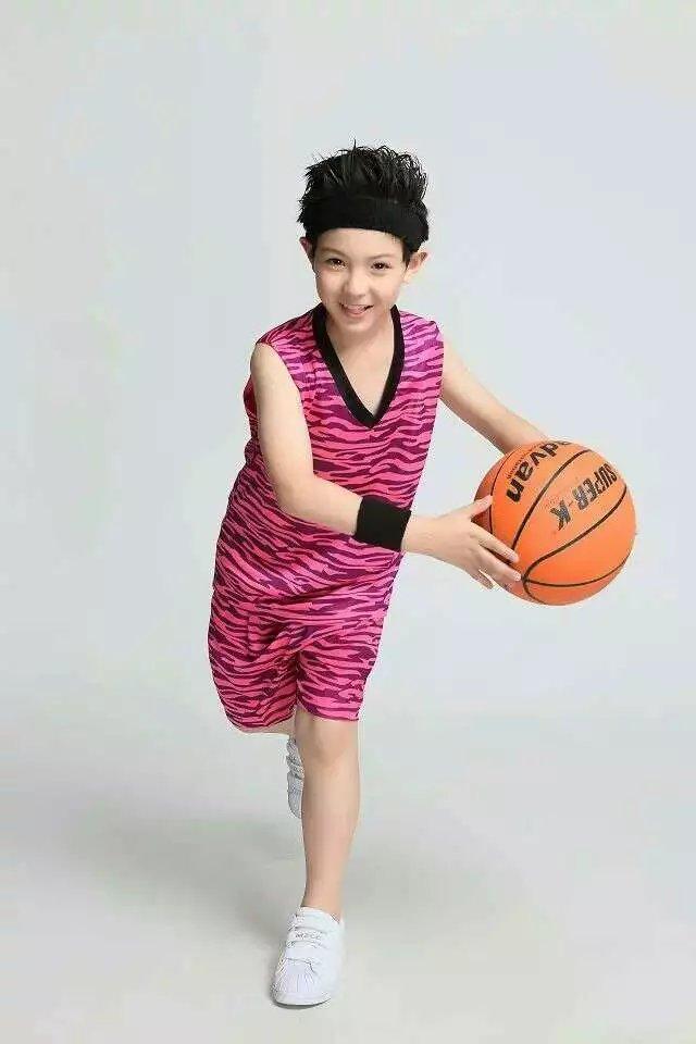 Boy Basketball Clothes Suit Basketball Jerseys Shirt Basketball Short Empty Team Sport Running Boy Set(China (Mainland))