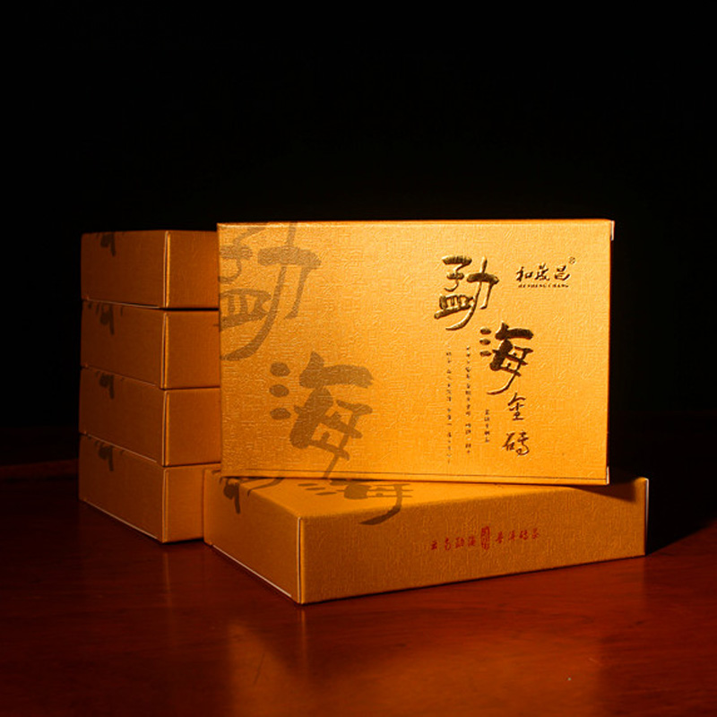 Pu er cooked tea brick 250g old raw material Features tea premium discount will not regret