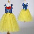 new girls kids fashion 2016 dress up costume for kids snow white dress