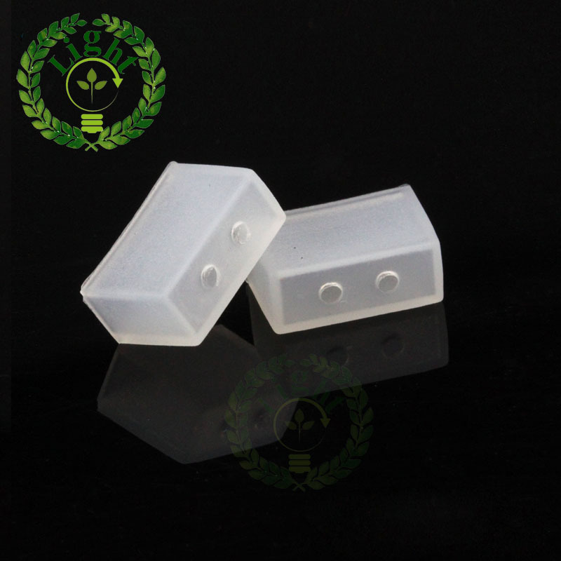 20pcs lot 8mm Silicone End Cap for 3528 3014 IP67 IP68 LED Tube Strip 20pcs No