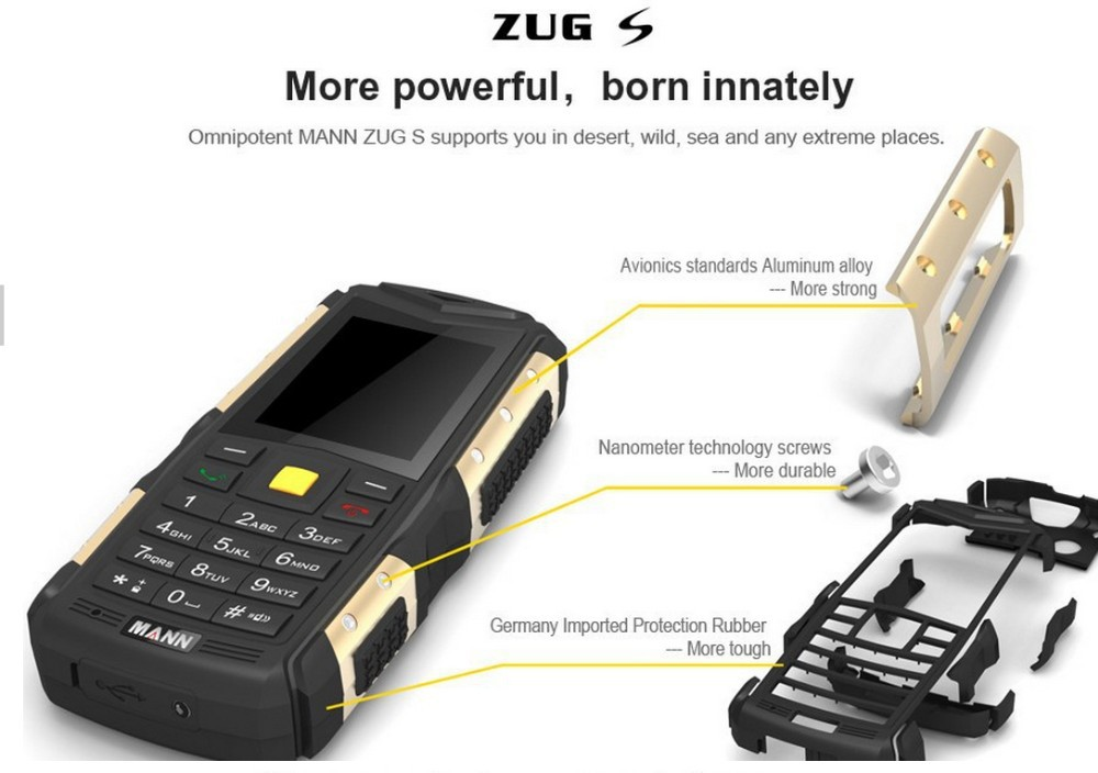 mann zug s phone manual
