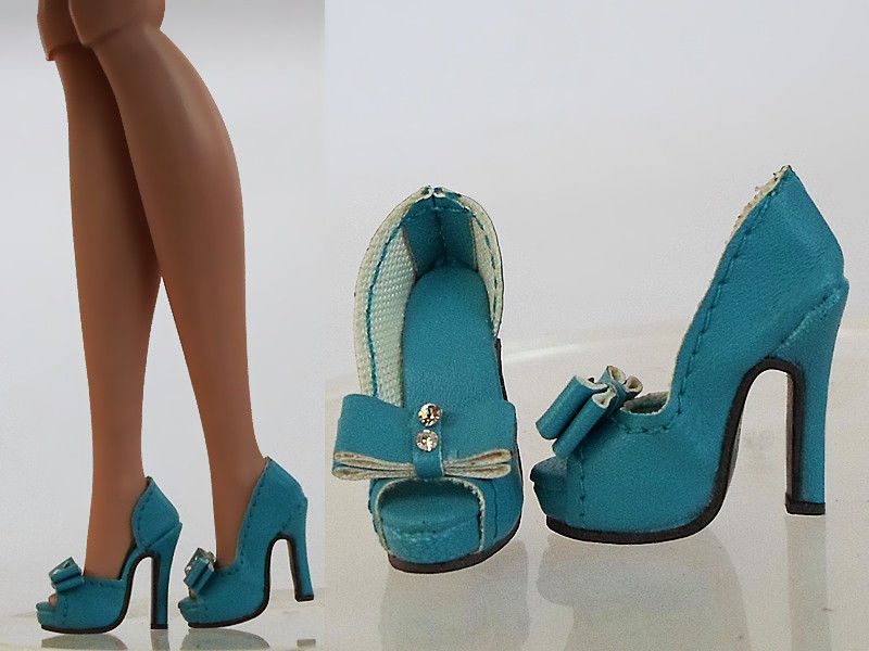 Sherry Blue Shoes Pumps For 2013 FR Tropicalia Color Infusion Jem the Holograms 7FR2-12(China (Mainland))