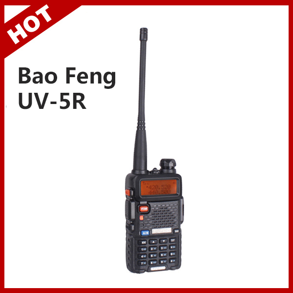 Baofeng UV 5R Portable Dual band VHF UHF two way radio 136-174/400-520 ham cb radio baofeng uv-5r for pair Walkie Talkie(China (Mainland))