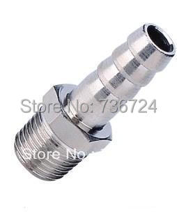 12mm-1/4 PT thread male brass hose barbed fittings