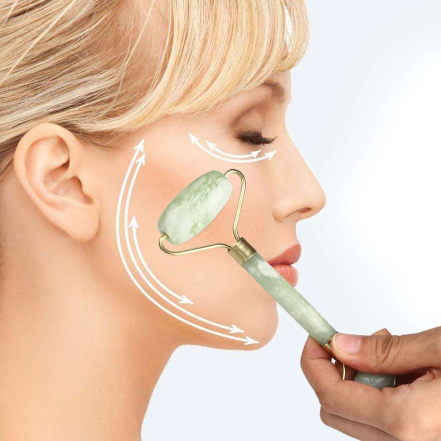 Compra jade rodillo de la cara online al por mayor de - Rodillo para lacar ...