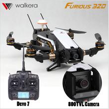 F16884/85 Walkera Furious 320 RC Drone with Camera TVL800 1080P Devo7 2.4G Transmitter RTF Quadcopter OSD CFP Modular