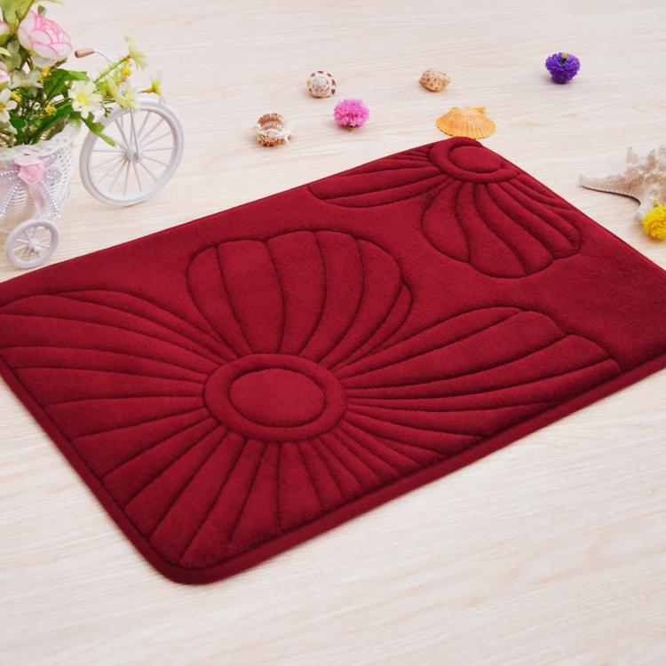 Super soft sponge electronic embroidered floor mats doormat absorbent mats sanitary pads door mat carpet keyboard pad bath mat(China (Mainland))