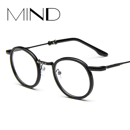 Glasses Frame Personality : 2015 Hot sale retro metal eyeglass frame women and man ...