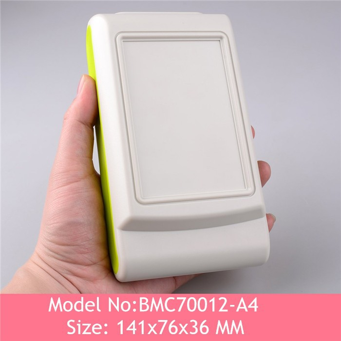 8pcs/lot)Abs plastic handheld enclosure plastic case for electronics project box abs junction box 141*76*36mm<br><br>Aliexpress
