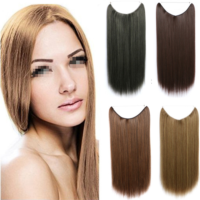Long Straight Hairpiece Fashion 5 Styles Hair Extension Cosplay European Lady Peruca Queen Piece