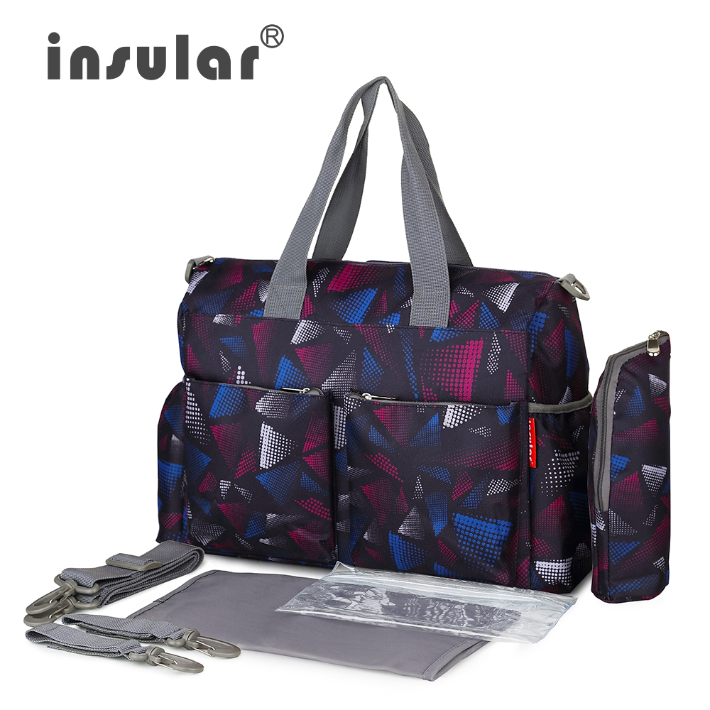 2016 Urban Series Fashion Multifunctional Lady's Bags For Baby Diaper Changing Waterproof Nappy Bag Free Shipping Mommy Bag(China (Mainland))