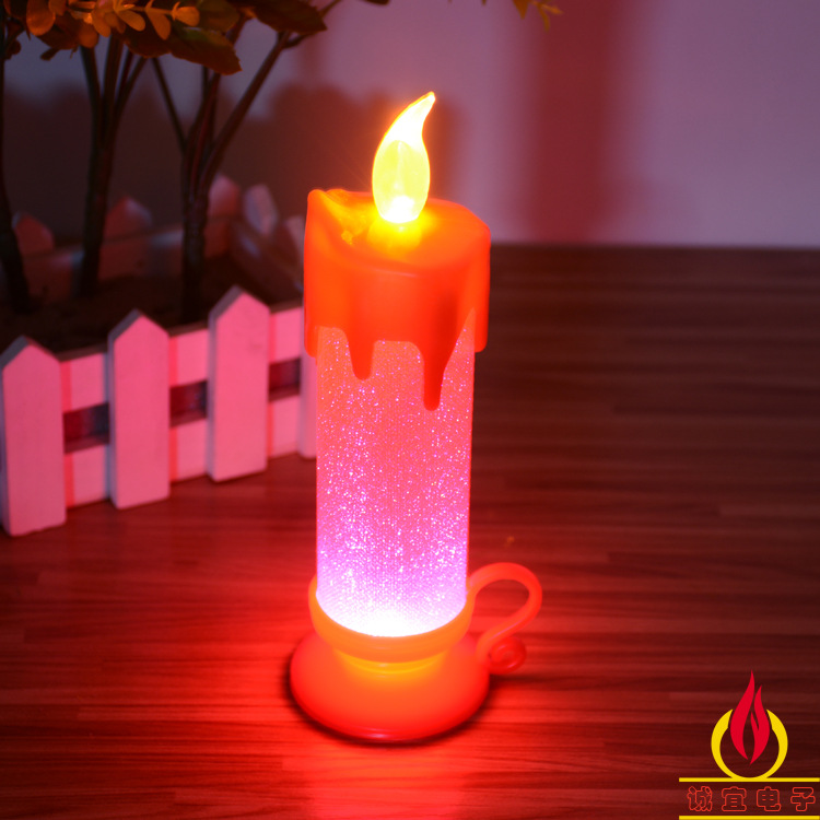 Buy 2015 new year electronic discoloration candles christmas decorations for - Appealing christmas led candles for christmas decorations ...