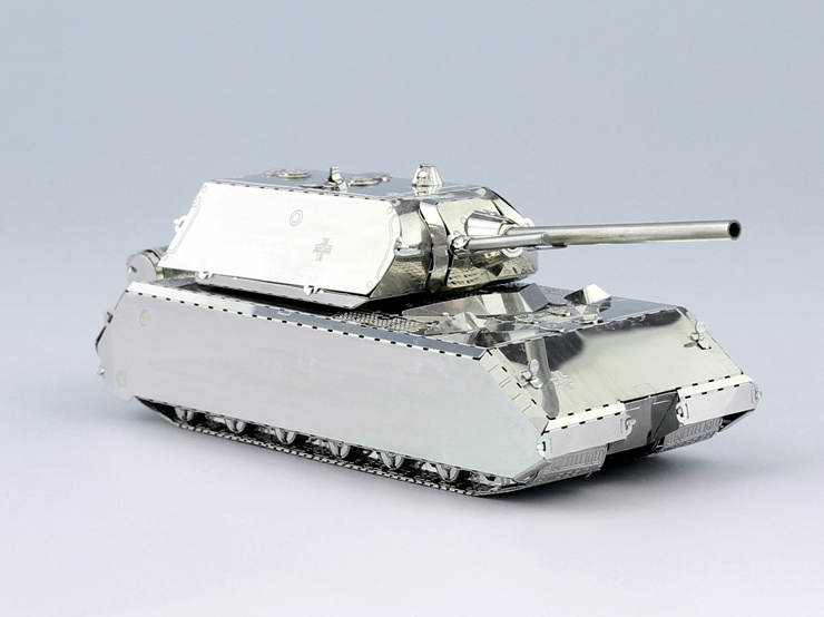 METALCUBE stainless steel DIY three-dimensional puzzle German tank model rats<br><br>Aliexpress