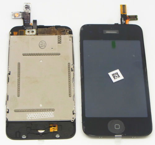 High Quality A lcd touch digitizer screen assembly part for iPhone 3g 3gs free shipping low cost good quality(China (Mainland))