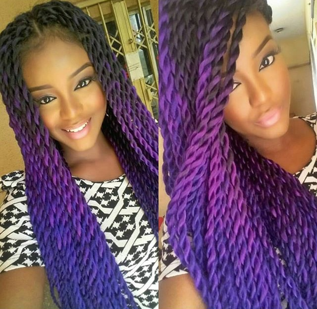 hot sale Havana Mambo twist braid hair extension Synthetic crochet ...