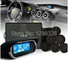 Автомобиль цифра и цвет из светодиодов дисплей паркуя обратный резервный радиолокационной системы с 4 / 6 / 8 датчики голос и звуковой сигнал тревоги